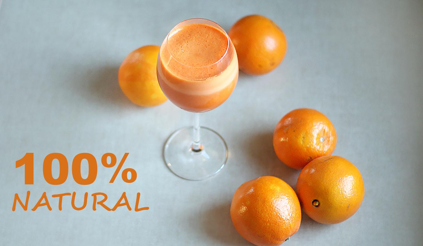 Sok marchew jabłko pomarańcz kiwi FitSweet