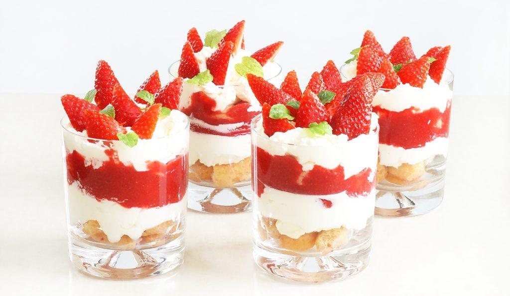 Deser truskawkowy à la tramisu