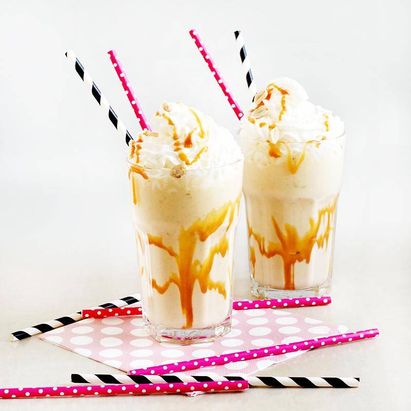 Milkshake bananowo-fistaszkowy