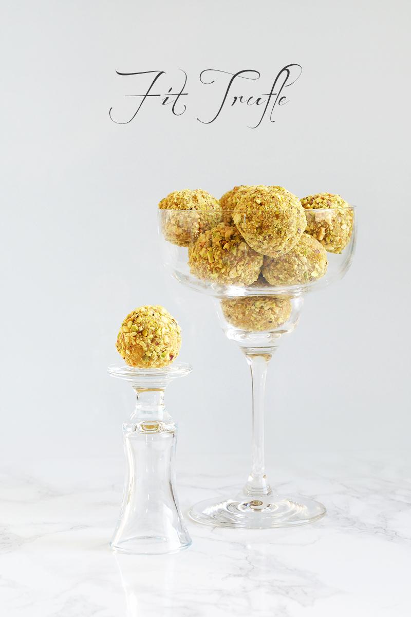 Trufle morelowo-pistacjowe