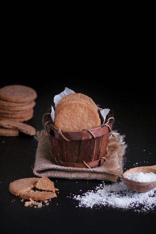 Orkiszowo-kokosowe FIT ciasteczka