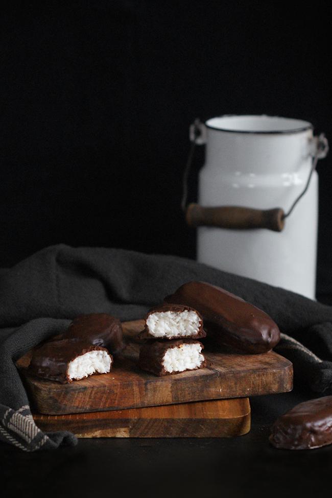 Domowe bounty - kokosowe FIT batony