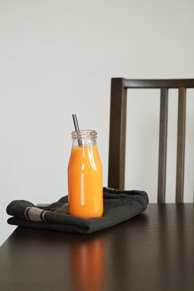 Marchewkowo-jabłkowe smoothie