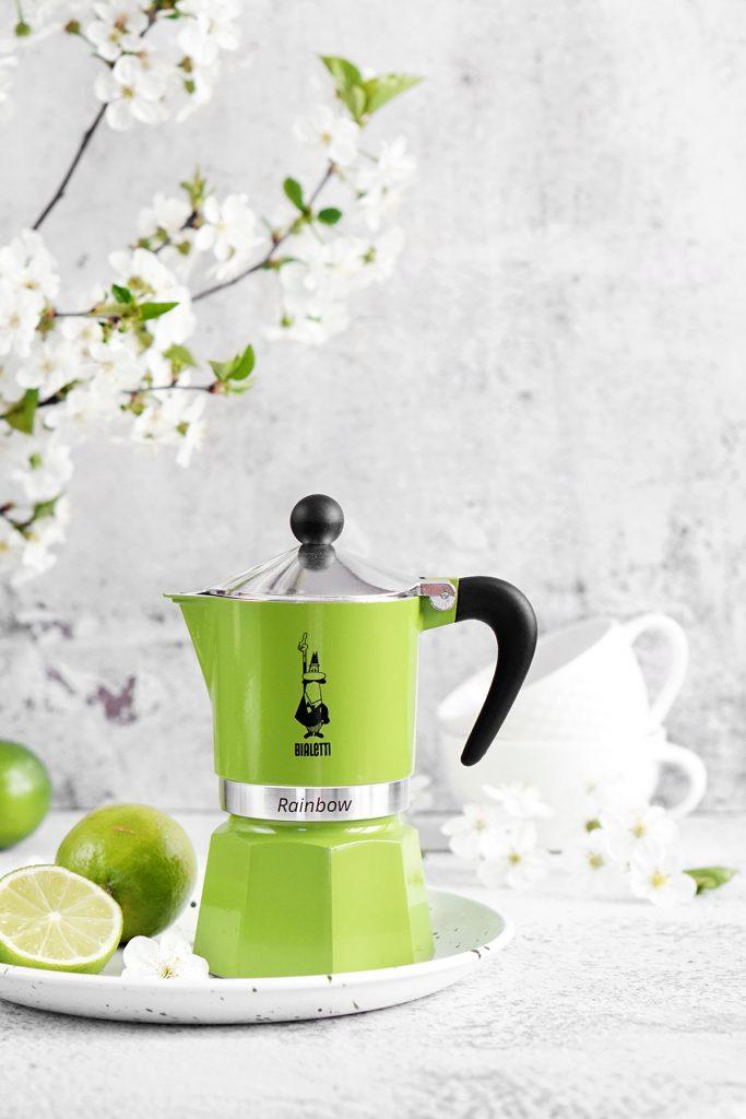 Zielona kawiarka