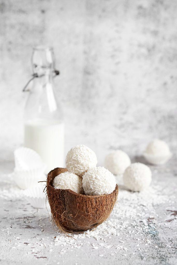 Zdrowe kulki kokosowe